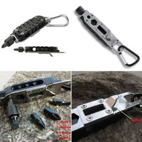 adjustable screwdriver - Adjustable EDC Multi Use Screwdriver Plier Knife LED Gear Survival Wrench Jaw