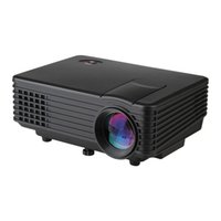 atv business - Excelvan EC77 RD805 Lumens Projector Mini LED Portable Beamer Cinema Proyector VGA AV USB HDM ATV Home Theater Projector