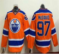 authentic jersey shop - 2015 Edmonton Draft Connor Mcdavid American Premier Hockey Jerseys Ice Winter Home Away Jersey Stitched Authentic Free shopping