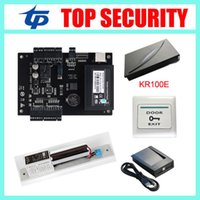 Cheap TCP/IP RS232/485 RFID card time attendance Best 30000 Card reader ZK access control system