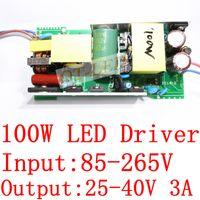 Wholesale W LED Driver adaptor power supply for W high power light lamp AC V to V For LED Light Lamp Bulb