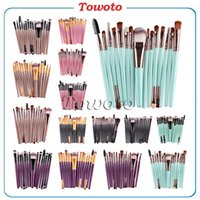 benefit cosmetics brush - 15 Set makeup brush Kit Eye Shadow Foundation Eyebrow Lip benefit cosmetics Brush Multi functional Makeup Brushes Tool Kis colors