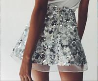 Wholesale Fashion Sequined Skirt Club Sexy Miniskirt Skirt