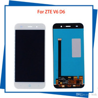 Wholesale For ZTE Blade X7 D6 V6 Z7 LCD Display Touch Screen Digitizer Assembly Replacement Mobile Phone LCDs