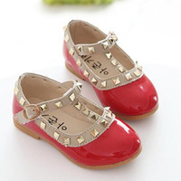Girl baby branded casual shoes - DHL Children s Brands Shoes Girl s Spring Casual Shoe Baby girls Summer Flattie Child fashion leather shoes Pairs CK221