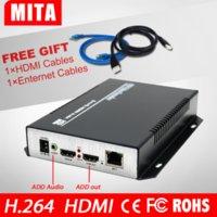 Wholesale H HD HDMI Encoder for IPTV IP Encoder H Server IPTV Encoder RTMP UDP HDMI to IP Audio Video