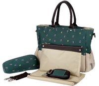 Wholesale Mother Bag Baby diaper Nappy Bags Maternity Mummy bags fashion Large Capacity tote Handbag Messenger Bag set