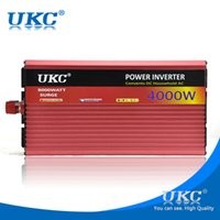 Wholesale UKC W KW Car inverter V DC VAC power Convert for freezers ovens electric kettle electric drill cutting machine