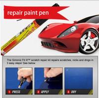 Wholesale Pro automotive paint pen car repair paint pen scratch repair for Simoniz Clear Pens Packing car styling car