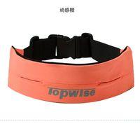 average fit - Topwise movement elastic belt running fitness close fitting pocket anti theft average size adjustable model