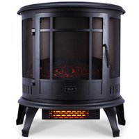 alcohol heater - 1500W Fireplace Heater Fire Free Standing Electric Flame Wood Stove Adjustable