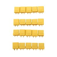 banana plugs gold set - 10 Pairs XT90 Battery Connector Set mm Male Female Gold Plated Banana Plug