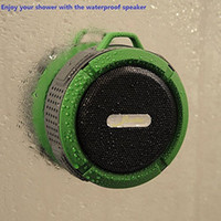 Wholesale Shower Speaker Wireless Waterproof Speaker with W Drive Suction Cup Buit in Mic Hands Free Speakerphone