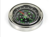 Wholesale Hot sale Feng shui compass stainless steel alloy compass outdoors travel both Chinese and English compass mm mm compass