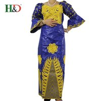 africa dress designs - 2016 latest design Bazin African cotton dress woman rich woman with elegant and comfortable design dress elegant Africa S2311