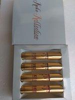 Wholesale Kylie Jenner Lip Kit Lipgloss Set KOKO Kollection Set The Family Collaboration kollaboration Gold Metal Matte lipstick KHLOE Lip Gloss