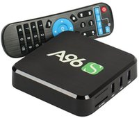 Wholesale FAST SPEED KODI TV BOX A96S Android A96X Amlogic S905X Quad Core Smart Box TV Android GB with Wifi K1080p Set Top Box