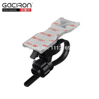 bicycle bar pad - GACIRON Universal Bicycle Handle Bar Mount Cell Phone Holder with M Sticky Pad for Smart Phones