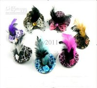 Wholesale 2017 Time limited Real Red Endoscope Usb Partyessential Fashion Leopard Feathers Hat sweet Sexy Butterfly Knot with Diamond Flower Hairpin