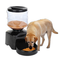 automatic dog feeder timer - Automatic Pet Feeder Programmable Timer Food Station Dispenser Container for Dog Cat Animal with Electronic Large Small Meal Portion Control