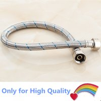 Metal air hose connection - Hot water Heater part High Pressure Stainless Steel Water Connection Pipes for gas solar air electric Heater shower inlet and outlet hose