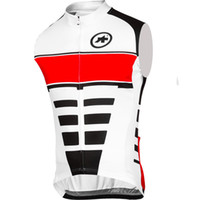 assos bicycle clothing - New ASSOS cycling sleeveless jersey summer ropa ciclismo Tour de France maillot ciclismo cycling Clothing MTB Racing bike bicycle vest B1303