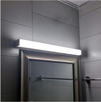 Wholesale new led mirror light w W W w w ft ft mm waterproof wall lamp fixture v Acrylic wall mounted bathroom light lighting