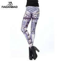 Wholesale NADAO New Arrival Summer Fashion Design Arthas Armour Legins Classic Leggins Pencil Feet Pants Printed Women Leggings