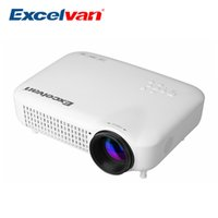 Home atv tv - Excelvan LED5018 HD Multimedia LED Projector lumens Home Proyector With AV VGA HDMI ATV USB For Video Games TV