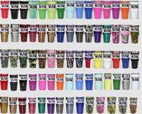 Wholesale 2017 yeti cups oz oz YETI Tumbler Rambler Cups Large Capacity Stainless Steel Tumbler Mugs ml ml In Stock