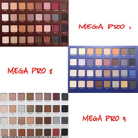 Wholesale Mega Pro Eyeshadow Palette Matte Eye Shadow Sets Limited Edition Makeup Colors