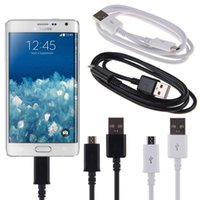 Wholesale 1M Ft Micro USB Sync Data Cable Charging Cords Charger Line With Retail Package for Samsung Galaxy Edge LG HTC Sony Nokia