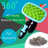 Wholesale Pet Hair Removal Pet Shampoo Massage Brush Hair Removal Balls Comb Household Pet Supplies Cat Dog Care Hair Care Products