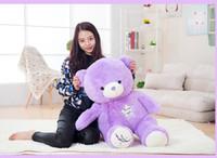best teddy bears - 2016 New Lavender Teddy Bear Plush Toys CM Best Gift for Christmas