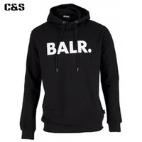 Wholesale C S Fleece BALR Casual Unisex Hoodies Sweatshirt Cool Hip Pop Pullover Mens women Sportwear Coat Jogger Tracksuit Fashion