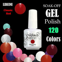 Cheap 120 Colors GelPolish Soak Off UV & LED Nail Polish gelish for Nail Art Gel gelish 15ml   0.53oz In stock Sell by Flydream