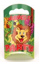 bamboo jungle - New JUNGLE PARTY Paper Gift Bag For Baby Birthday Children s Party Gift Package Bags