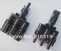 5 paires / lot TUV IP68 Panneau solaire MC4 3 à 1 T branchez les connecteurs Câble Coupleur LJQ150
