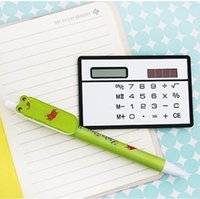 Calculatrice scientifique de poche de puissance solaire de vente en gros-libre pour un étudiant de cadeau d'étudiant d'école de bureau pour le bacck blanc