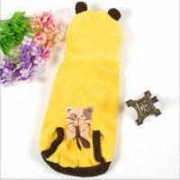 Wholesale Pet Clothing Soft Pet Coral Velvet Pet Clothes Cat Dog Clothes Cat Warm Clothes Two Colors