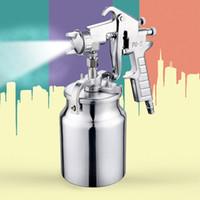 Wholesale price PQ pneumatic mm puzzle size spray gun under the pot of pneumatic tools household spray paint spray gun