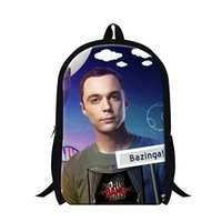 big bag theory - Fashion Bazinga Children School Bags Kids Shoulder Book Bag Casual Backpack Hipster Child Schoolbag The Big Bang Theory Mochilas