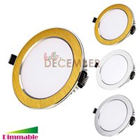 Wholesale Dimmable W W W W W W LED Downlights Recessed LED Ceiling Lights Warm Nature Cool White LED Lighting