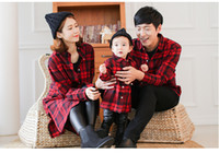 baby clothes dad - New Family Shirt Cartoon Dad Mom Baby Shirt Spring Fall Kids Long Sleeve Shirts Boys Clothing Casual Shirt