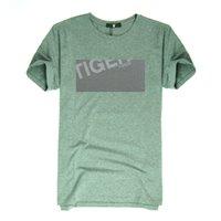 Wholesale 2016 European Size Men Fashion T shirt Cotton Spandex O Neck Casual T shirt White M XL