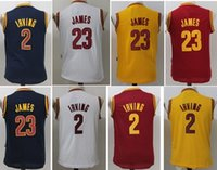 basketball children - 2017 kids Kyrie Irving LeBron James Basketball Jersey boy child youth Shirts Stitched Jerseys top Quanlity Mix Order