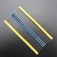 Resistor de la película de metal de la Venta al por mayor-50pcs / lot 4.7 ohm + -1% Resistencia del paquete del resistor de las PIEZAS del KIT del resistor DIY de 1W