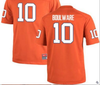 Wholesale Youth Orange white Ben Boulware Clemson Tigers Alumni Jersey