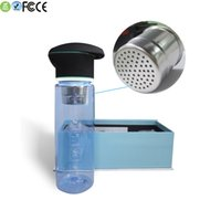 activated carbon systems - Water Bottle Sport BPA Free PCTG Tritan Activate Carbon Filter System UV Purifier Bottle for Sale