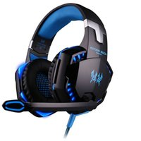 best headset gamer - Best PC Gamer casque EACH G2000 Stereo Hifi Gaming Headphones With Microphone Dazzle Lights Glow Game Music Headset fones